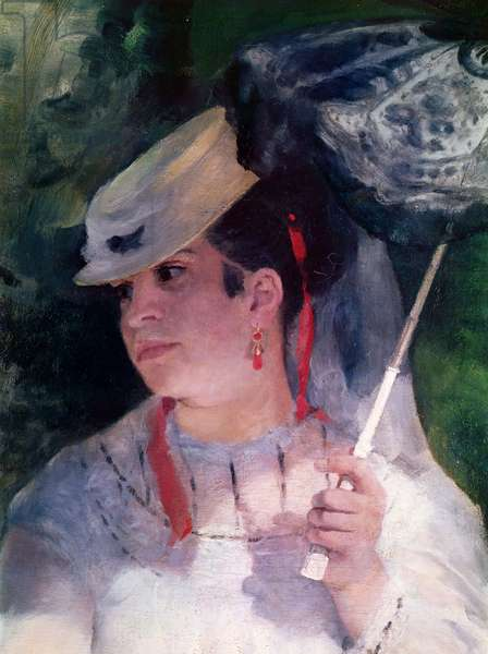 Portrait of Lise, 1867 (oil on canvas)