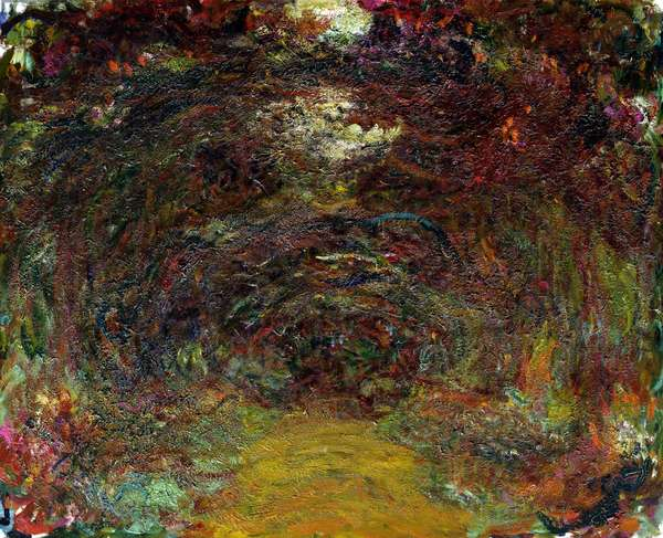 The Rose Path, 1920-22 (oil on canvas)