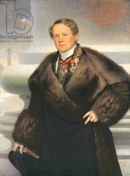 Auguste Ricard de Montferrand (1786-1856) 1842 (oil on canvas)