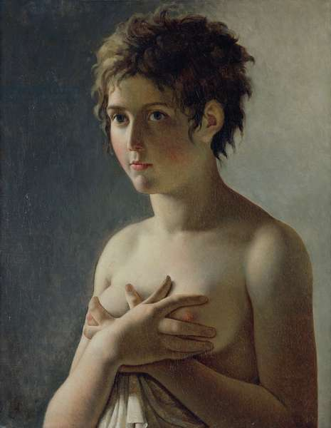 Portrait of a Young Girl, 1812 (oil on canvas)