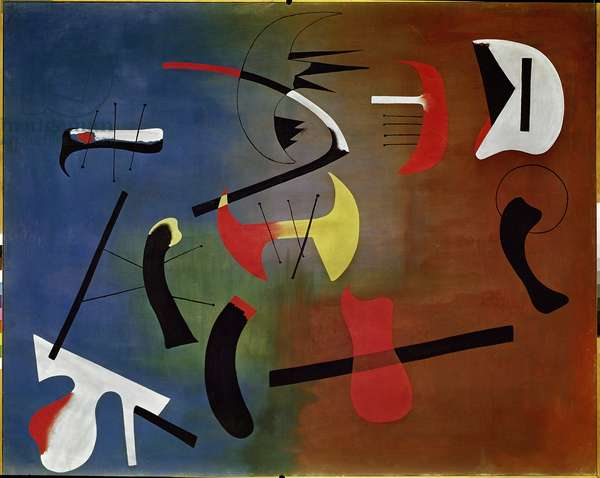 Composition (Painting), 1933 (oil on canvas)