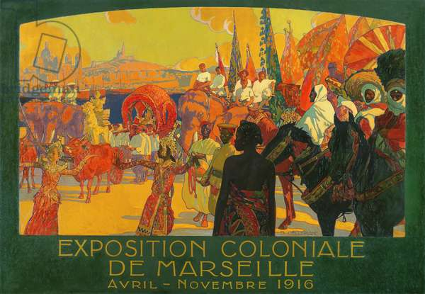 The National Colonial Exhibition, Marseille, April-November 1916, 1922 (oil on canvas)