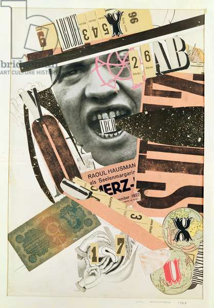 Head, 1923 (collage)