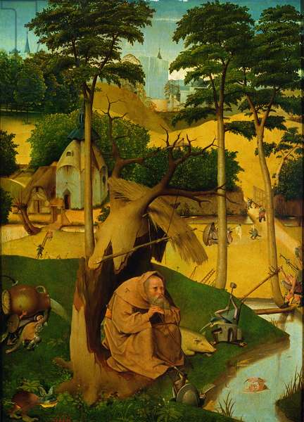 Temptation of St. Anthony, 1490 (oil on panel)