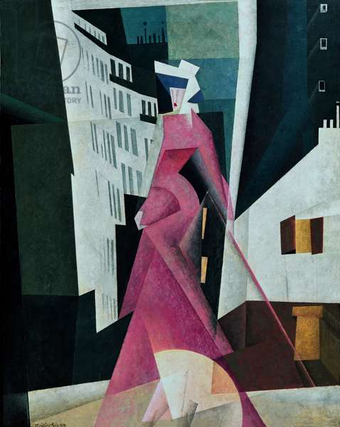The Lady in Mauve, 1922 (oil on canvas)