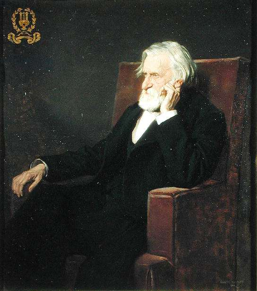 Portrait of Ambroise Thomas (1811-96) 1895 (oil on canvas)