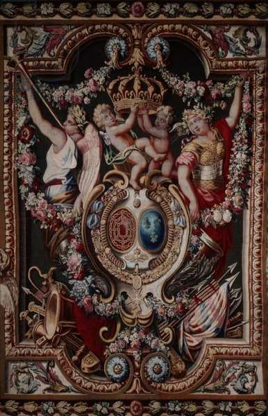 The Portiere of the Famous, from the Gobelins Tapestry Factory, 1722-28 (tapestry)