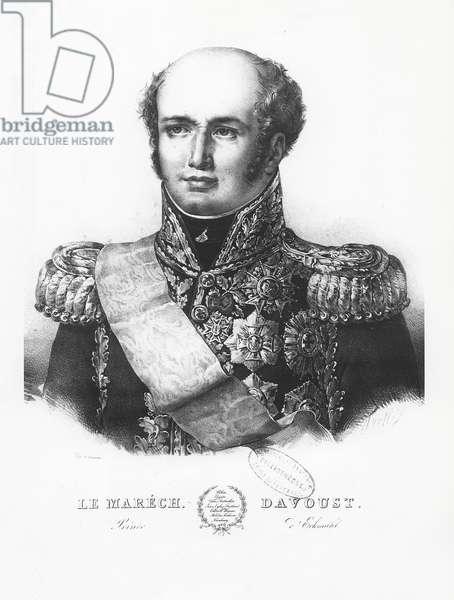 Louis Nicolas d'Avout, Duke of Auerstaedt (litho)