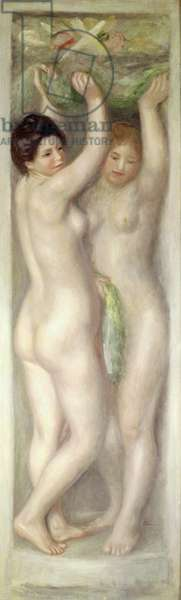 Caryatids (oil on canvas)