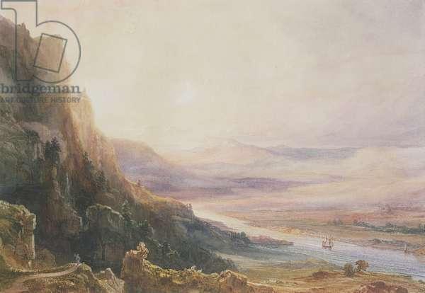 Perth Landscape, 1850 (w/c on paper)