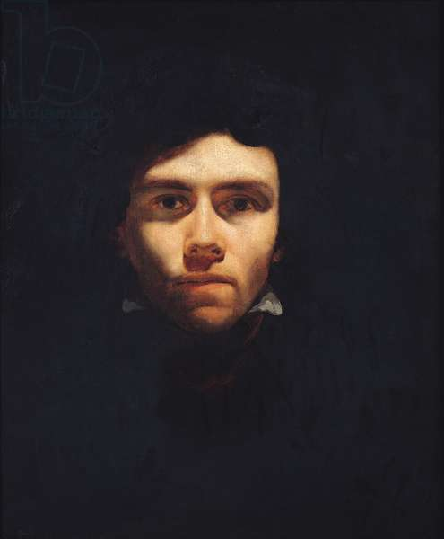 Portrait of Eugene Delacroix (1798-1863) c.1818-19 (oil on canvas)