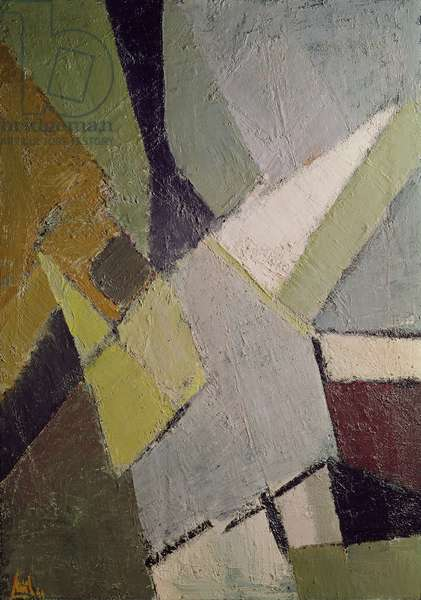 Abstract Composition, 1949 (oil on canvas)