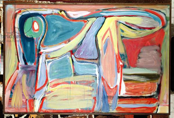 Composition, 1966 (oil on canvas)