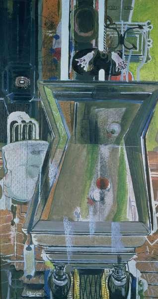 The Billiard Table, 1944-52 (oil on canvas)