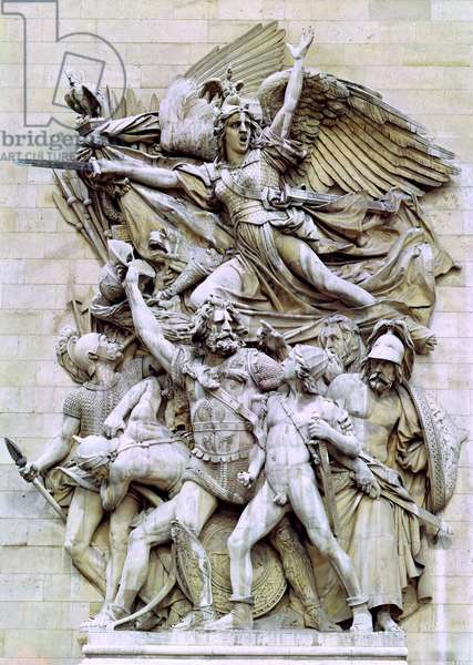 La Marseillaise, detail from the eastern face of the Arc de Triomphe, 1832-35 (stone)