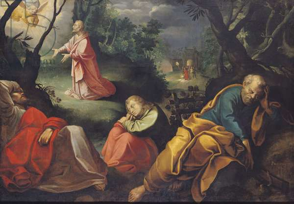 Christ in the Garden of Olives, 1625 (oil on canvas)