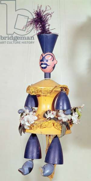 Puppet made for 'Le Roi Cerf' by Carlo Gozzi (1720-1806) 1918 (mixed media)
