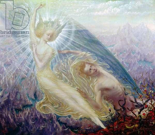 The Angel of Splendours, 1894 (oil on canvas)