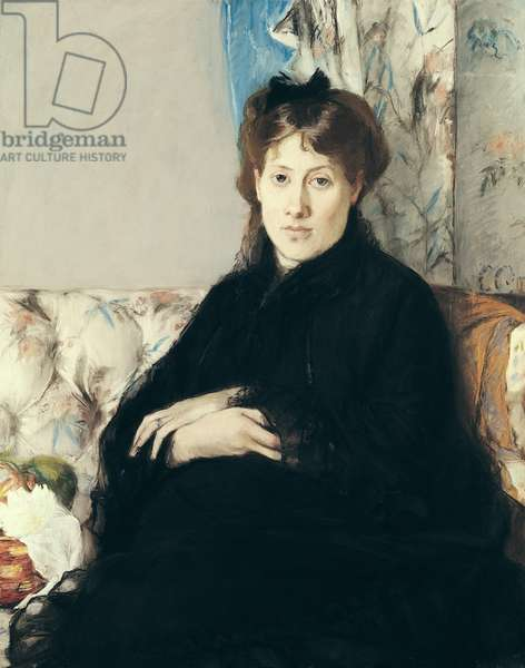 Portrait of Madame Edma Pontillon (1839-1921) 1871 (pastel on paper)