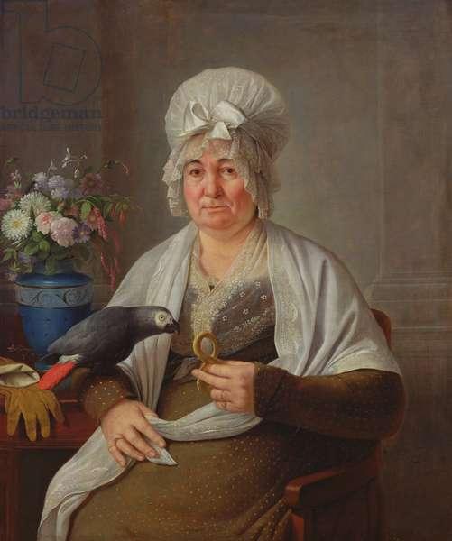 Portrait of Madame Pierre Guibert, 1809 (oil on canvas)