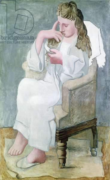 The Reader, 1920 (oil on canvas)