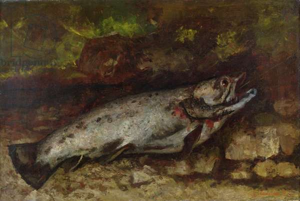 The Trout, 1873 (oil on canvas)