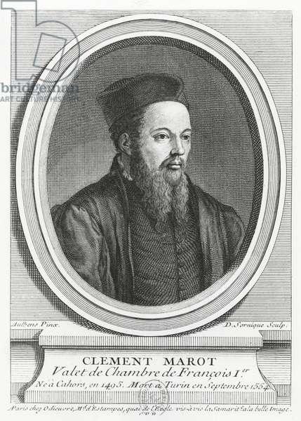 Clément Marot (engraving)
