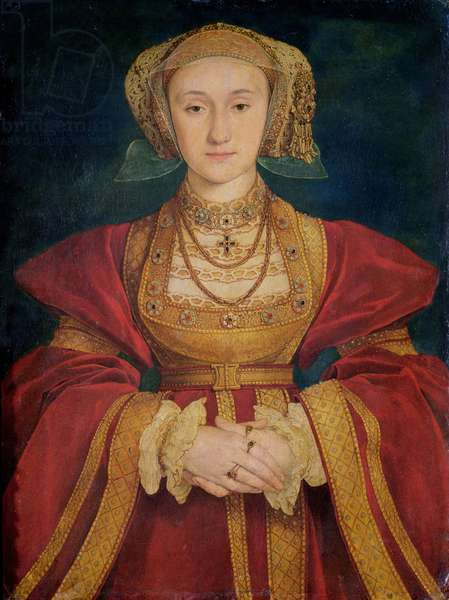 Portrait of Anne of Cleves (1515-57) 1539 (oil on canvas)