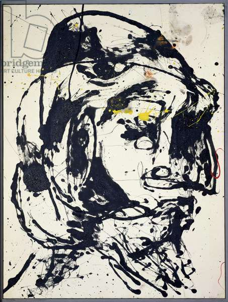 Number 7, 1952 (oil, enamel & aluminium paint on canvas)