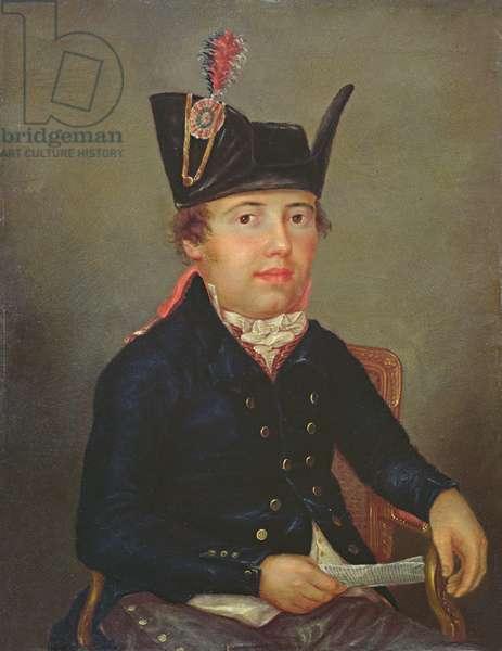 Portrait of Pierre-François Palloy (oil on canvas)