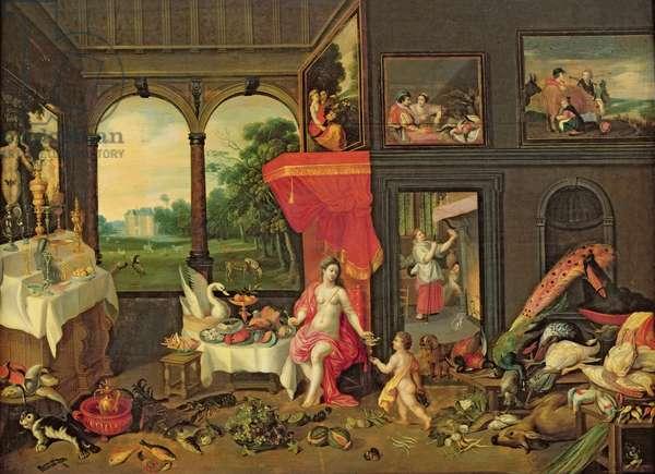 Allegory of Taste (oil on canvas)