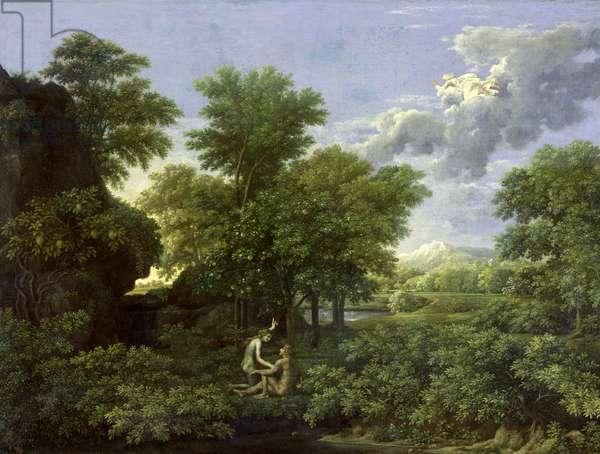 Spring, or The Garden of Eden, 1660-64 (oil on canvas)