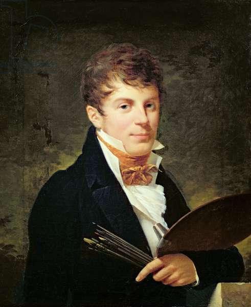 Portrait of Lancelot Theodore Turpin de Crisse (oil on canvas)