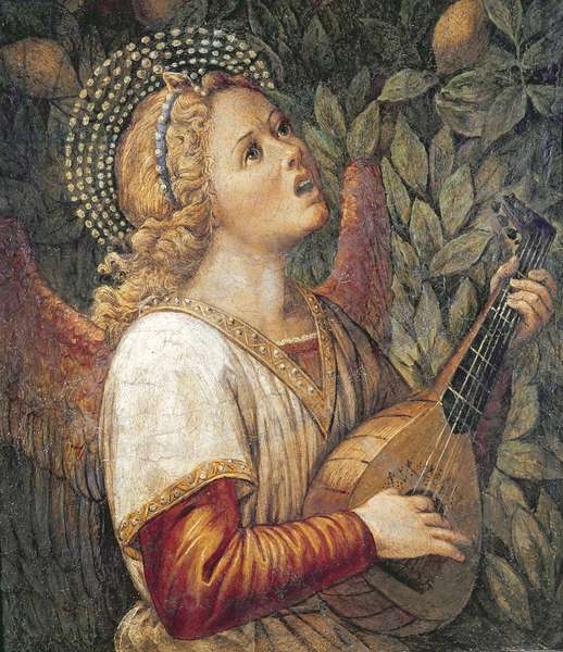 Angel Musician (fresco)