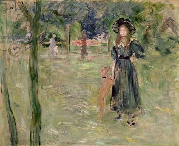 Bois de Boulogne, 1893 (oil on canvas)