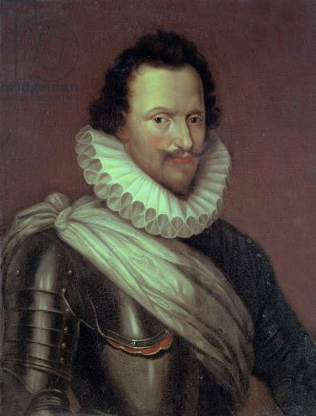 Concino Concini (1569-1617) Marquis of Ancre, 1834 (oil on canvas)
