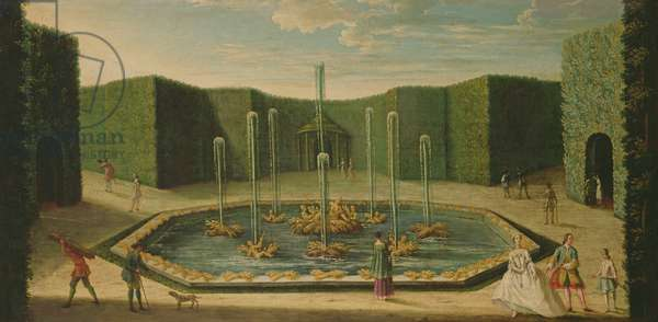 The Basin of Ceres at Versailles, early eighteenth century (oil on canvas)