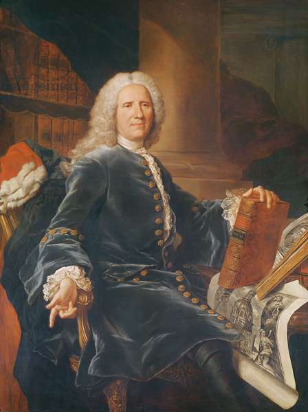 François Gigot de Lapeyronie (oil on canvas)