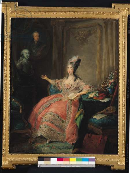 Louise Marie Josephine of Savoy, Countess of Provence (1753-1810), 1775 (oil on canvas)