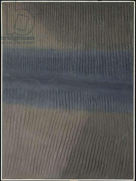 Burnt Earth II, 1970 (resin)