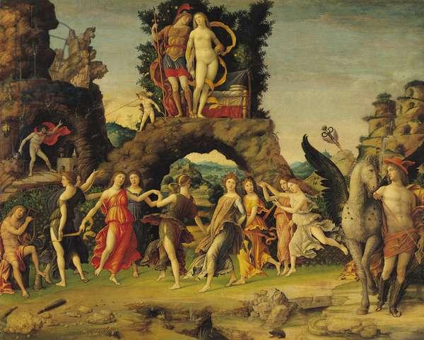 The Parnassus: Mars and Venus (oil on canvas)