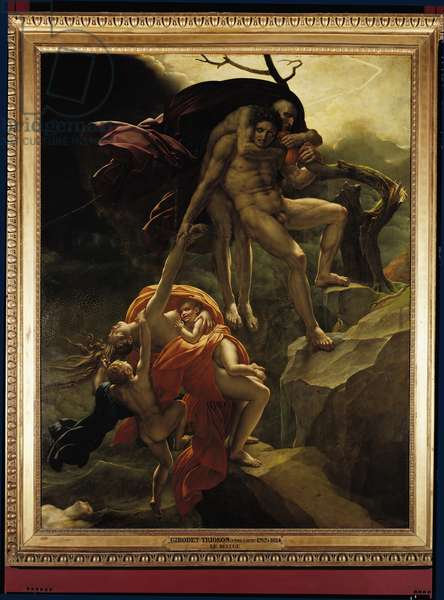 The Flood, 1806 (oil on canvas)