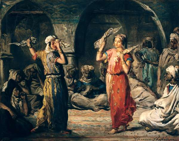 Dance of the Handkerchiefs, 1849 (oil on panel)