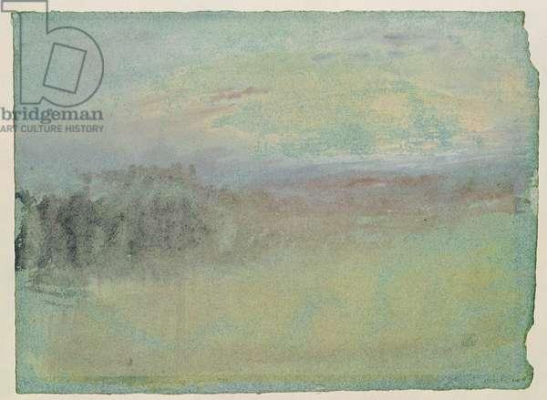 Coastal scene. c.1830 (w/c on paper)
