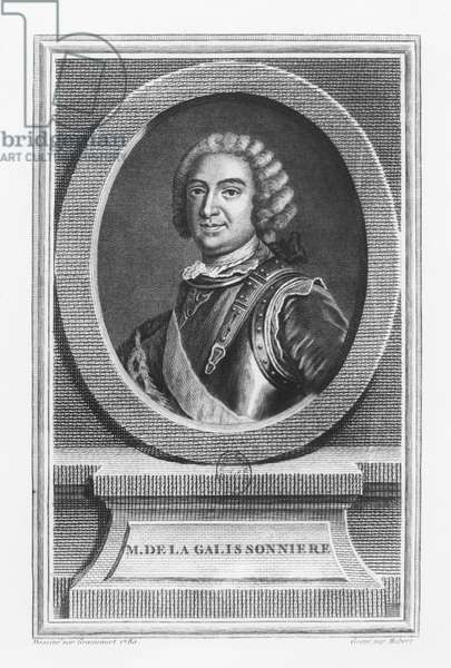 Roland Michel Barrin, Marquis de la Galissonière (engraving)