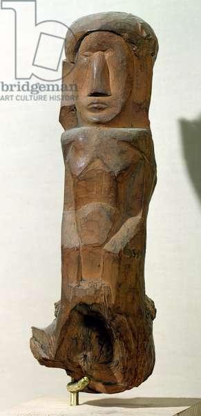 Figure, 1907 (wood)