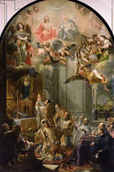 Mass for the Order of Trinitarians, 1666 (oil on canvas)