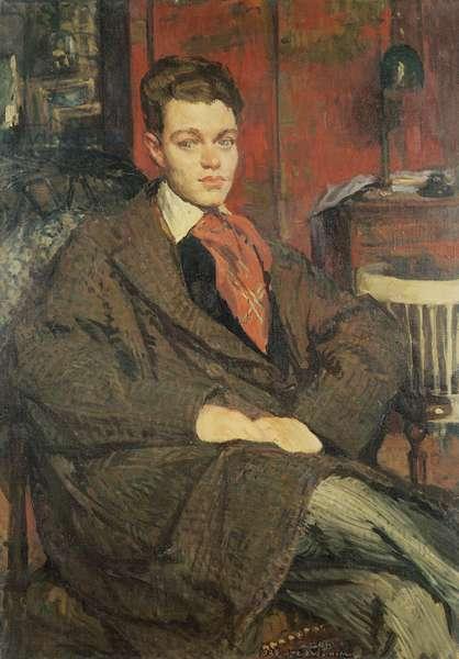 Rene Crevel (1900-35) (oil on canvas)