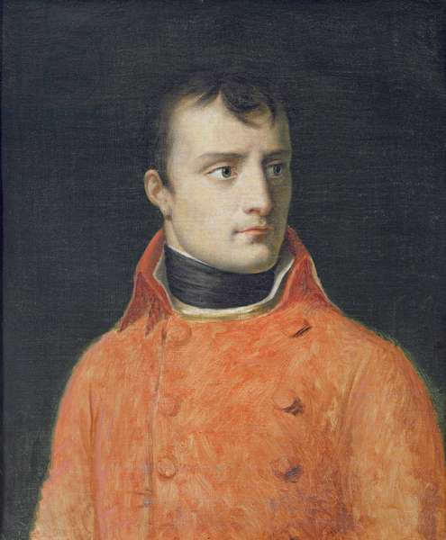 Napoléon Bonaparte, First Consul (oil on canvas)
