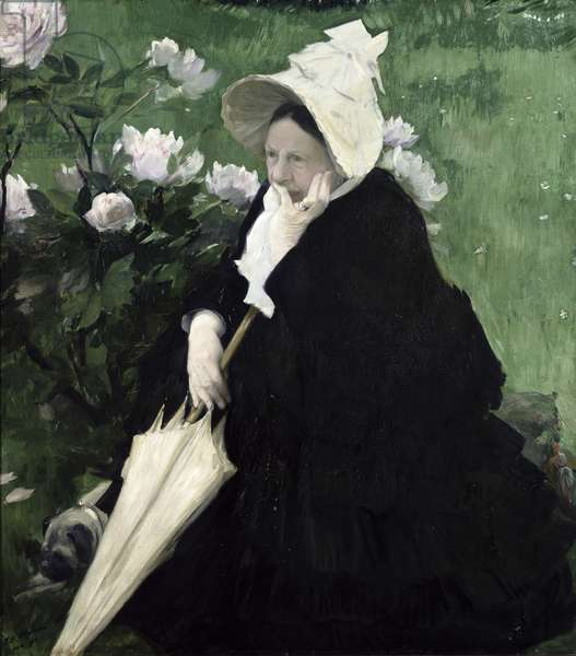 Portrait of the Artist's Mother, 1890 (oil on canvas)